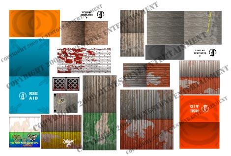 Sample textures